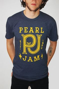 New Pearl Jam T-Shirt.  Must Have