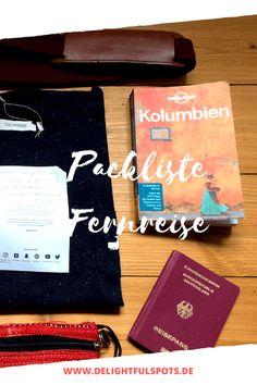 Packliste für eine Fernreise nach Kolumbien