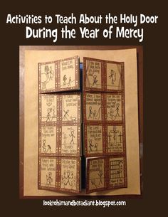 In just a few days, Pope Francis will officially start the Jubilee of Mercy by opening the Holy Door. This Extraordinary Jubilee is specifically the Year of Mercy, but actually every Jubilee Year focu Religion Activities, Teaching Religion, Catholic Religion, Catholic Crafts, Catholic Kids, Bible Forgiveness, Catholic Schools Week, Works Of Mercy, Year Of Mercy