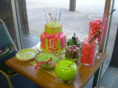 Candy Bar for Sweet 16