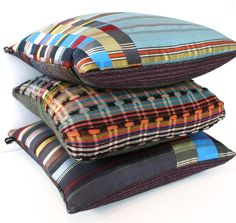 Wallace Sewell's New one off cushions!