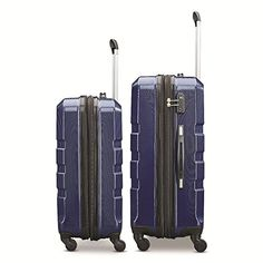"Amazon.com | Samsonite Invoke 2 Piece Nested Hardside Set (20""/24""), Navy Blue, Only at Amazon 