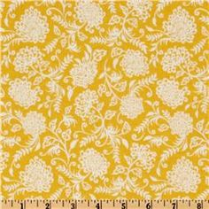 Decadence Floral Yellow  Item Number: EQ-584