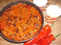 Een super recept voor chili con carne. Hier geen potten bruine bonen maar de echte bruine- of kidney bonen. Een recept voor 4 stevige eters dat je serveert met