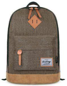 Backpacks Purposeful Faux-leather Fashion Backpack Mens Backpack School Backpack Travel Backpack Bag Bookbag School Bag Black Brown
