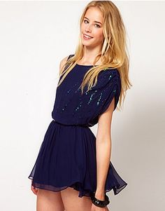 ASOS Fashion Finder   Traffic People Dress With Sequin Detail