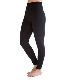 Loving this Black Fleece-Lined Leggings - Women on #zulily! #zulilyfinds...love racking up the savings on cute items from Zulily! :) Got these in black and brown...