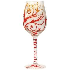 Westland Giftware 9-Inch Fire Twist Wine Glass, 15-Ounce by Westland Giftware. $27.99. Hand Wash Only. Material: glass. Clear glass with painted detail. Wine glass. Westland Giftware 9-Inch Fire Twist Wine Glass 15-Ounce This glass shows a red, orange, and yellow pattern throughout. Holds 15-Ounce and measures 9-Inch tall. Brand new in its original box, this glass makes a wonderful gift.