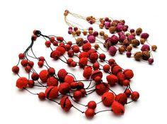 Ana Hagopian - paper jewellery #wow  #necklace #jewelry