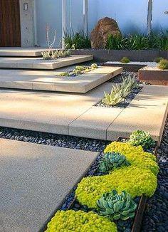 Giardini in stile moderno - Scalinata moderna