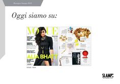 Snooping around the Slamp's press review...  On July we were on VOGUE India with Veli Suspension Gold