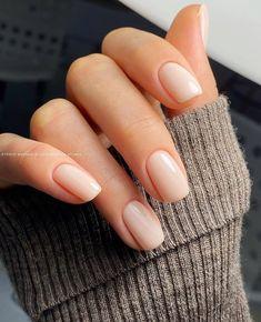 Casual Nails, Stylish Nails, Trendy Nails, Nagellack Design, Classic Nails, Bride Nails, Neutral Nails, Neutral Wedding Nails, Simple Wedding Nails
