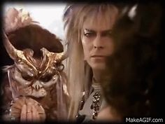 I want someone to look at me like Jareth looks at Sarah... My Love looks at me just this way...
