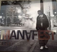 Manafest - Silver stamp foil *Glory Deluxe* Collectors Edition with bonus tracks: Out of Time, Yahweh, Bounce Rock Remix, and Impossible EDM Remix