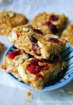 Snacktime just got a lot more delicious thanks to this recipe for No Bake Cranberry Cashew Bars. Made with Rice Krispies® cereal, dried fruit, and even granola, there's so much to enjoy in this delicious dish!