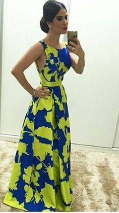 Big Dresses, Prom Dresses, Summer Dresses, Formal Dresses, Cute Maxi Dress, 1930s Fashion, African Attire, Green Fashion, Women's Fashion Dresses