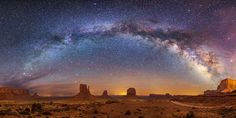 Photo of Milky Way over Monument Valley wins annual Arizona Highways photo competition Beautiful World, Beautiful Places, Simply Beautiful, Monument Valley, State Of Arizona, Small Waterfall, Photo Competition, Life Is A Journey, Milky Way