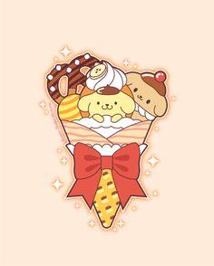 Whimsical tidbits of art, topped with a sprinkle of glitter. Sanrio Wallpaper, Kawaii Wallpaper, Sanrio Characters, Cute Characters, Hello Kitty Imagenes, Sanrio Danshi, Teaching Drawing, Hello Sanrio, Hello Kitty My Melody