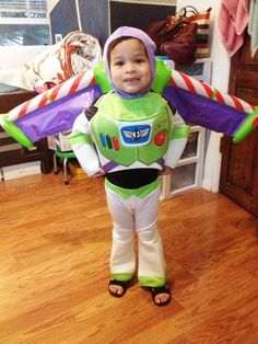 Buzz Lightyear costume with wings