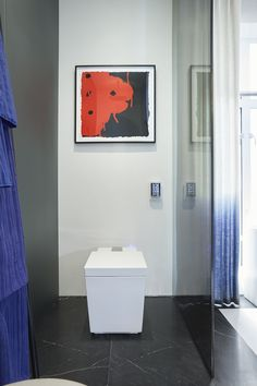 Kohler's Numi toilet is unmatched in its design and technology. Its recent appearance in the Kips Bay Show House beautifully featured it within a sleek bathroom design. Learn more about the new trend at ATGStores.com.