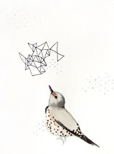 35% Off SALE - 8x10 Giclee Print of Northern Flicker - from Mai Autumn
