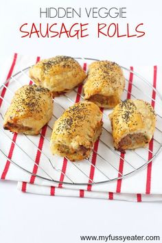 Delicious kid friendly sausage rolls packed with carrot and courgette. Everyone will love these Hidden Veggie Sausage Rolls, even picky eaters!