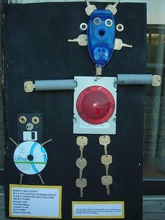 Lesson Plan: Recycled Robots - Kindergarten from Incredible @rt Department