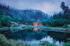 From a luxury safari lodge in Zimbabwe to a secluded bungalow on your own private Island on the Great Barrier Reef, these are the best honeymoon destinations. Check out T+L's complete guide for your romantic getaway. Downtown Napa Hotels, Beautiful Places To Visit, Wonderful Places, Hotels And Resorts, Best Hotels, Calistoga Ranch, Napa California, Best Honeymoon, Outdoor Camping