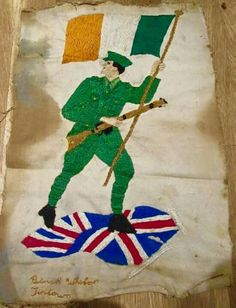 Irish Independence, Easter Rising, Celtic Fc, Fighting Irish, Freedom Fighters, Nativity, Christmas Ornaments, History, Holiday Decor