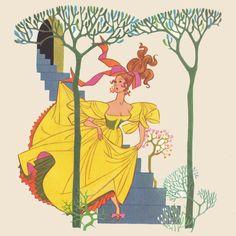 Sheilah Beckett, from Twelve Dancing Princesses
