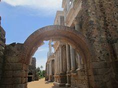 Teatro romano de #Merida #Badajoz #Spain