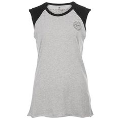 Celebrate decades of Element's legacy with this femme-d muscle tee. Contrast shoulders add throwback edge to this essential.
