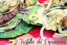 Tortillas de Espinac