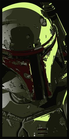 nice Boba Fett - Such a cool rendition. Star Wars Pictures, Star Wars Images, Tableau Star Wars, Cuadros Star Wars, Star Wars Bounty Hunter, Star Wars Painting, Star Wars Personajes, Retro, Star Wars Wallpaper