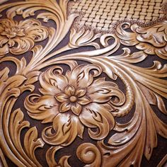 No photo description available. Leather Carving, Leather Art, Leather Gifts, Custom Leather, Leather Tooling, Leather Engraving, Tooled Leather, Handmade Leather, Leather Jewelry