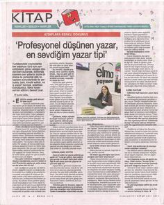 Cumhuriyet Kitap'ta Demet Uyar röportajı