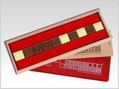 Partilhe este ano o Dia dos Namorados de forma especial!  Surpreenda a sua cara metade com uma mensagem de Amor em quadradinhos de chocolate! http://www.mysweets4u.com/pt/?o=1,5,29,2,0,0