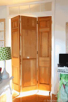 Thrift-store-bifold-doors-made-into-a-rolling-door.gif (512×768)