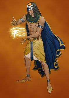 Egyptian God Ra by OfficalROTP. Pretty sure I've pinned this before but it's one of my favorite designs for Ra!