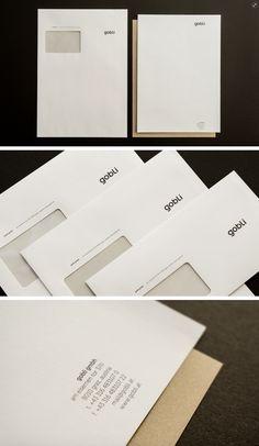 corporate design und gestaltung von geschäftsdrucksorten für gobli gmbh – architects & engineers Corporate Design, Corporate Identity, Cards Against Humanity, Writing Paper, Brand Design, Brand Identity, Brand Identity Design