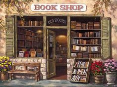 An old book shop