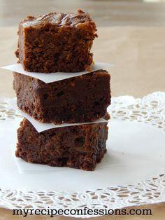 The best Pumpkin Brownies | lollyjane.om