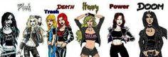 Metal chicks  #Metal