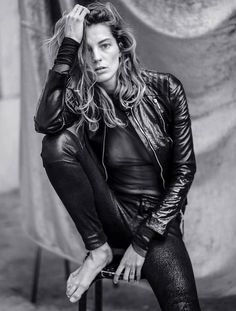 Daria Werbowy by Mathieu Cesar for Marie Claire Russia May 2014 #dariawerbowy #celine #fashion