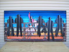made from recycled corrugated iron
