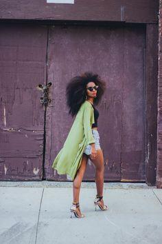 Ecstasy Models — ecstasymodels:   Green Trench  Trench coat HERE //...