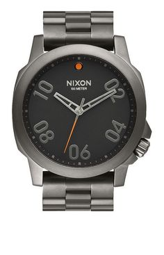 Nixon Ranger 45 Watch (£140) ❤ liked on Polyvore featuring men s fashion 4b46ddc1d63d