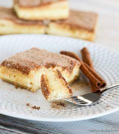 Churro Cheesecake Bars - Creations by Kara