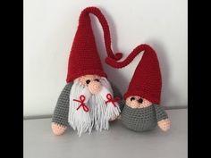 Gnome de Noël Amigurumi crochet (Bébé) /Christmas baby Gnome (english subtitle) - YouTube