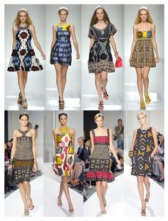 love a good tribal print! i'm ready to add a few ikat pieces to my summer wardrobe.